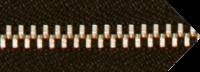 Μεταλλικά φερμουάρ